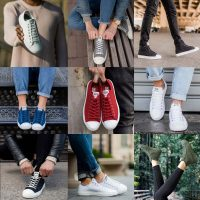 Sustainable sneakers made from sustainable materials