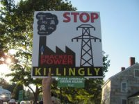 Protests against fossil based power plants