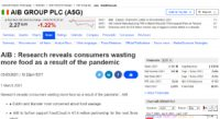CCR Research reveals consumers wasting more food as a result of the pandemic