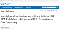 EPA_Publishes_28th_Annual_US_Greenhouse_Gas_Inventory
