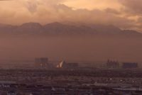 A layer of smog