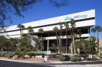 Exterior of The NV Energy Building