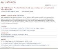 CCR HB 1965 State Air Pollution Control Board; low-emissions and zero-emissions vehicle program.