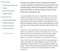 CCR Socially just population policies can mitigate climate change and advance global equity
