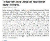 CCR The Future of Climate Change Risk Regulation for Insurers in America_