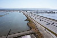 Dumbarton Bridge and other infrastructure in the Bay Area are at the risk of flooding