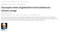 CCR US propels vision of global farm tech solutions to climate change