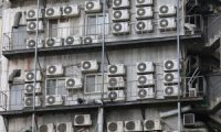 Climate crisis caused by harmful chemicals from airconditioners