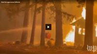 CCR Officials urge residents to flee as Dixie Fire, California's biggest blaze this year, continues to grow