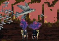 Pink Sky and the Flying Fish