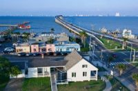 Port Isabel , Texas, Pictured here , is close to two planned liquefied natural gas export terminals
