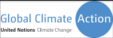 global climate action logo