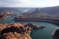 A small county in Utah is forging ahead with plans to build a billion-dollar pipeline to draw more water from the drought-stricken Lake Powell reservoir