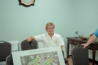 """""""If you look at what the folks here called downtown, really the only business that came back was the U.S. Post Office,"""" said Al Leonard, Fair Bluff's town planner."""
