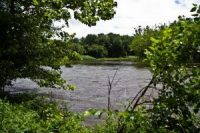 A view of the Delaware River